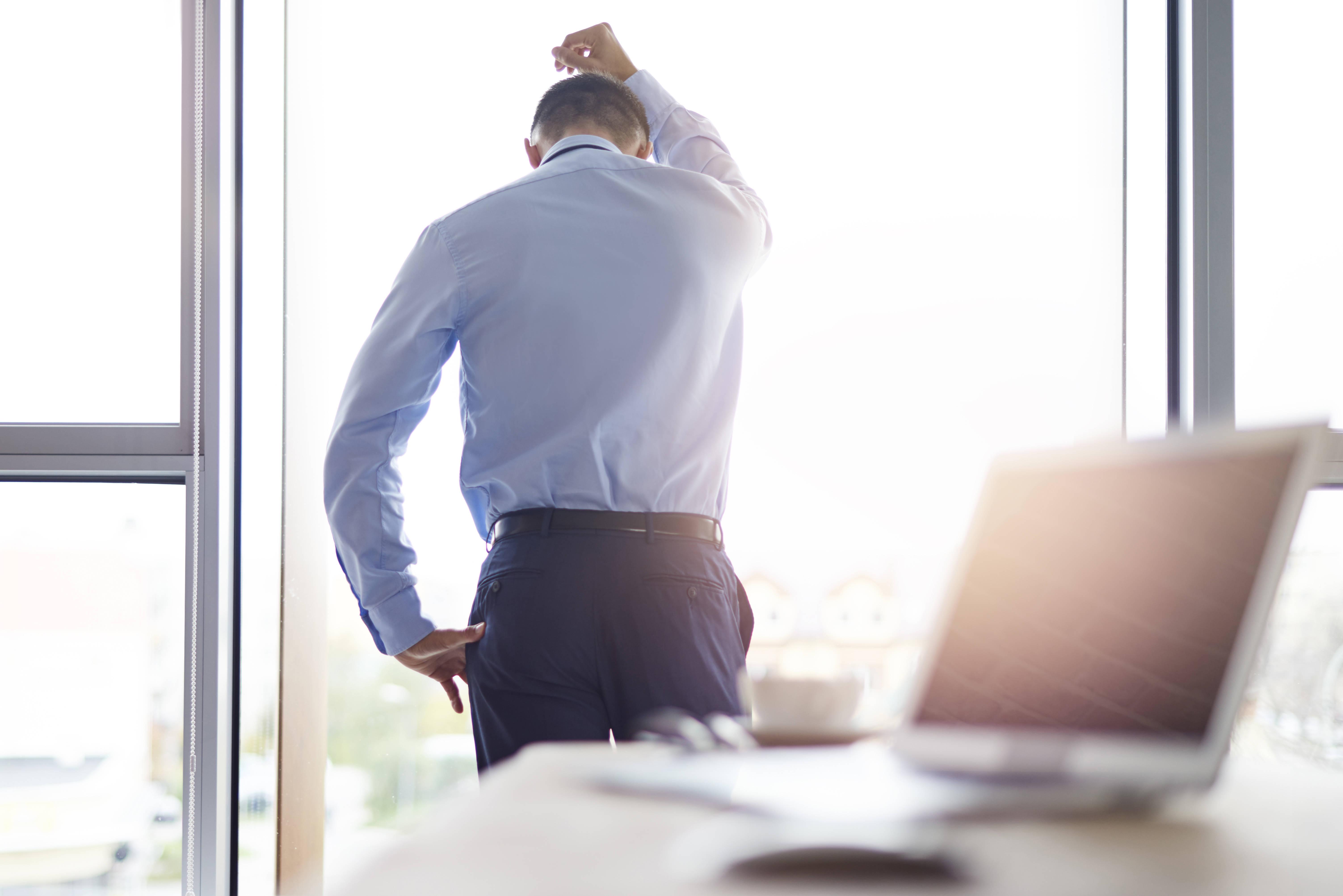 Una manera de combatir el cansancio en el trabajo