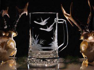 Grabados en vidrio como una forma directa y eficaz de publicidad